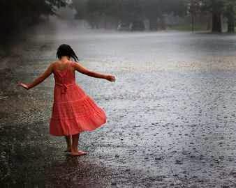 La lluvia en los sueños