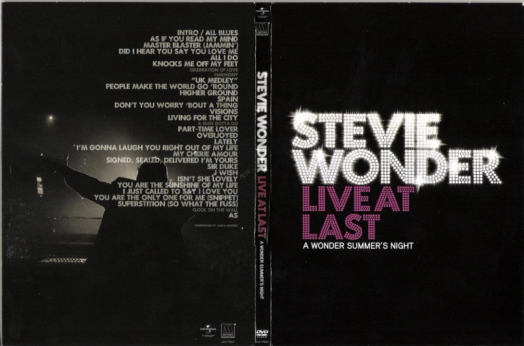 Stevie Wonder - [2009] Live At Last (DVD-Audio)
