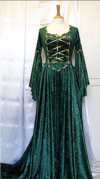Middle Ages Dresses Looking Back To The Glory Of Tne Medieval Clothing