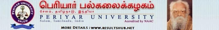 Periyar University 2014 Results