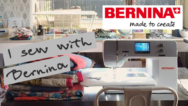 I SEW WITH BERNINA
