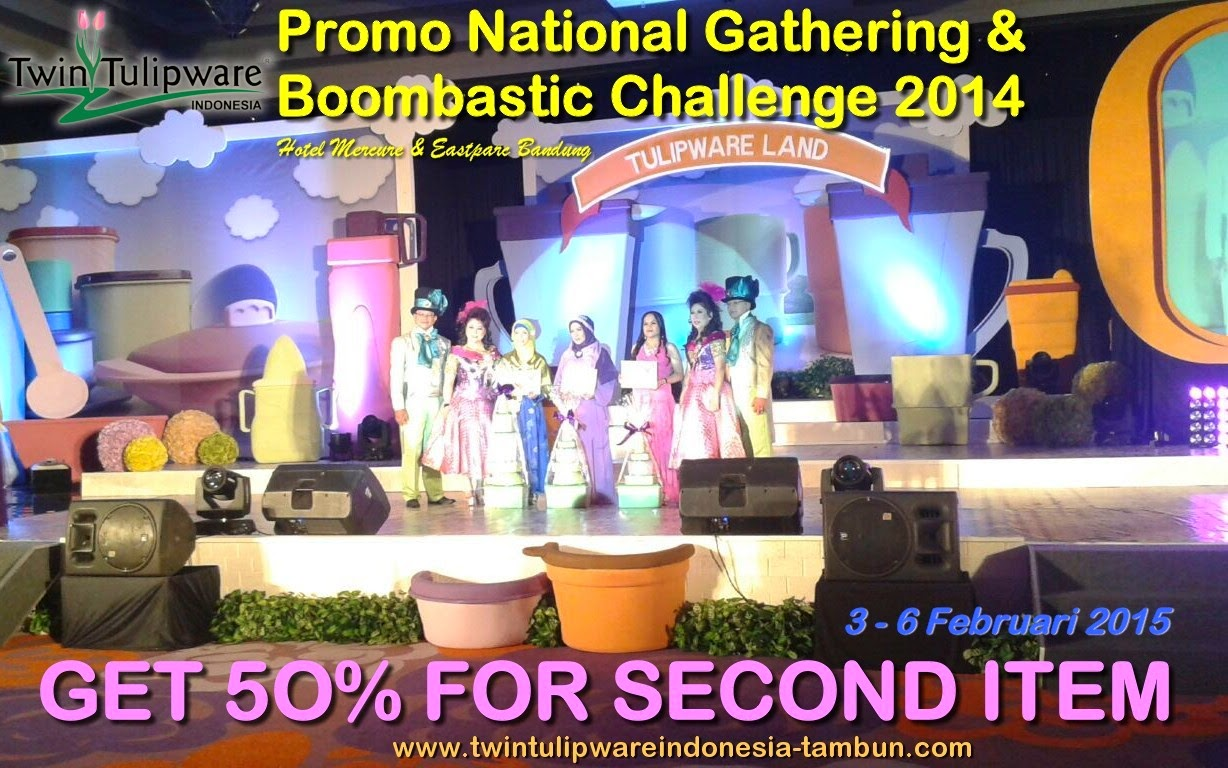 National Gathering 2015 Twin Tulipware & Boombastic Challenge 2014