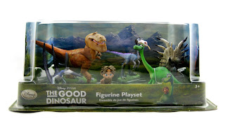 the good dinosaur figure playset