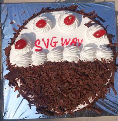 SVG Way Cake