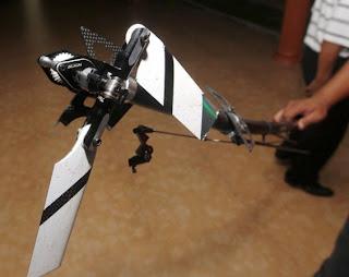 Bayi Maut Terkena Bilah Helikopter Kawalan Jauh