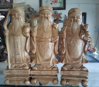 Trang trí nội thất với tượng gỗ nghệ thuật