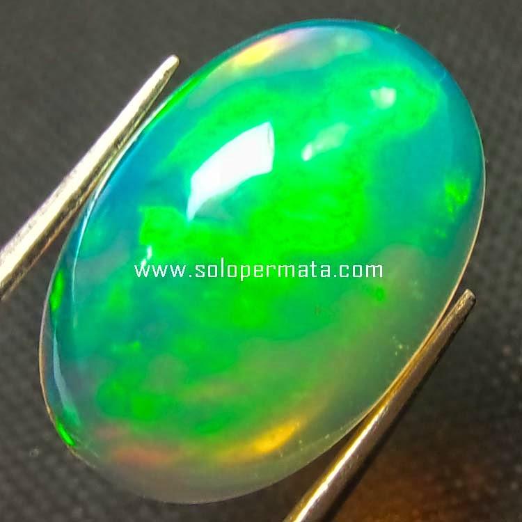 Batu Permata Opal Kalimaya Kembang Jarong - Sp055