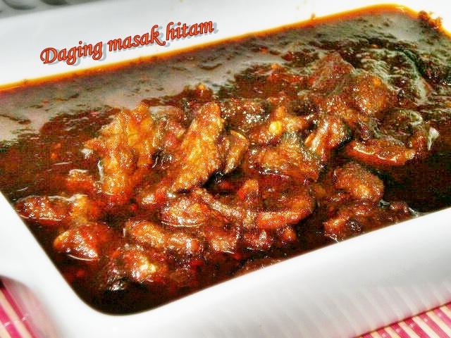 Daging Masak Hitam Mamak Daging Masak Hitam
