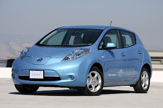 Nissan Leaf Wins the 2011 World Car of the Year Award