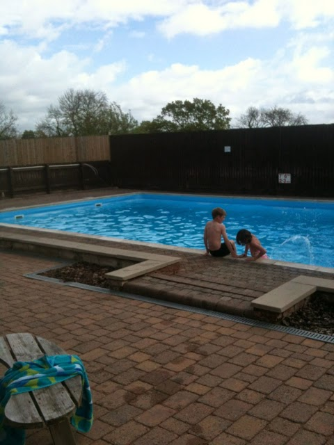 Callow Top Holiday Park pool