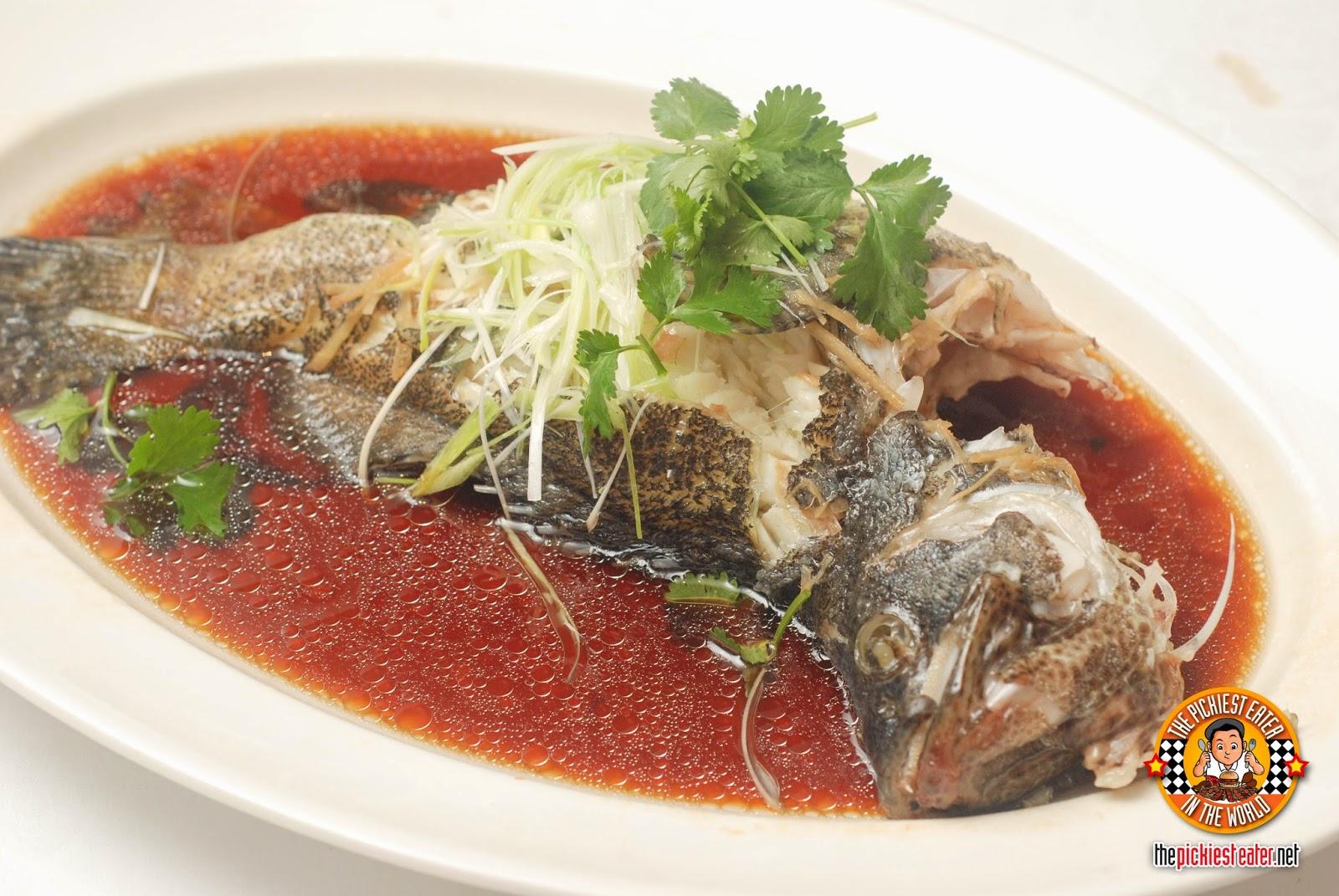 Yee Sang Shang Palace Makati Shang steamed fish