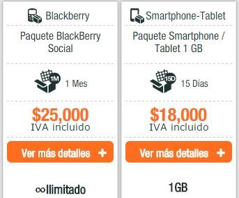 Planes de datos e internet móvil en Colombia Uff!