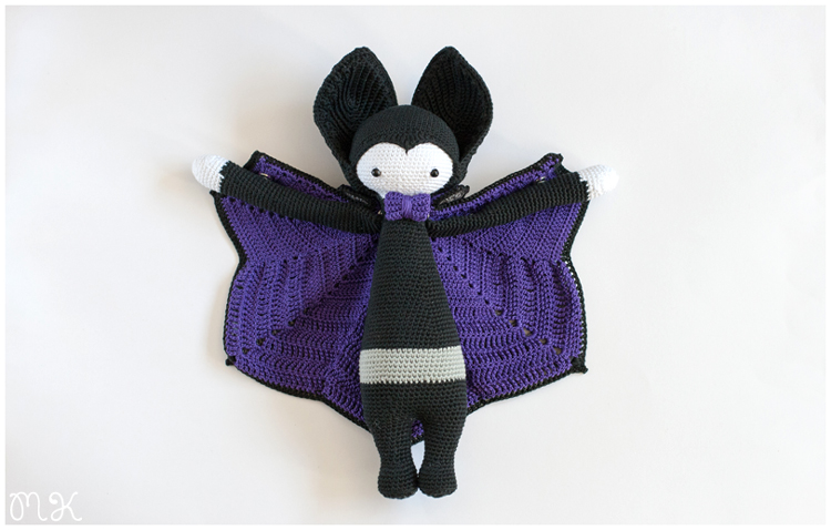 amigurumi vlad the vampire by lalylala