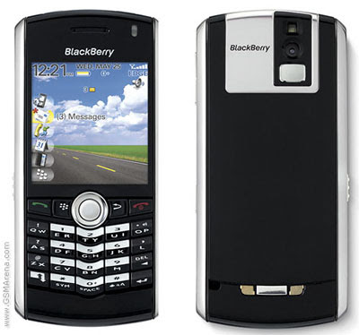 new BlackBerry Pearl 8100