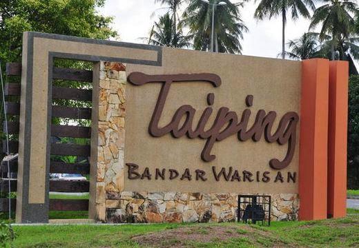 Destinasi pelancongan Taiping bandar warisan