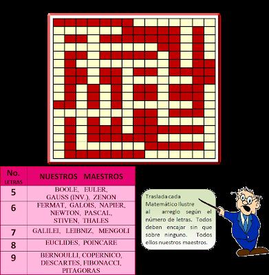 Cruzada, Cruzada Matemática, Cruzapalabras, Palabras Cruzadas