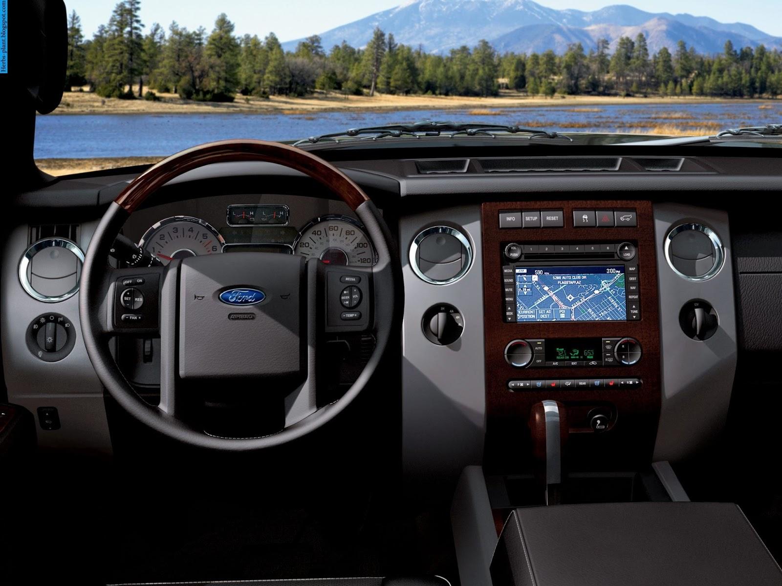 Ford expedition car 2013 dashboard - صور تابلوه سيارة فورد اكسبديشن 2013