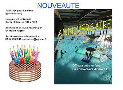 fêter son anniversaire à la piscine agl'eau