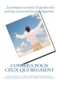 """Livre """"Conseils pour ceux qui bégaient"""""""
