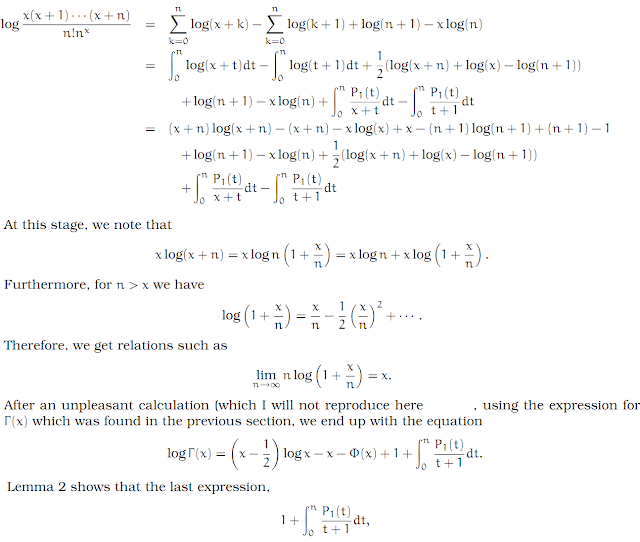 Complex Analysis: #28 Stirling`s Formula equation pic 7