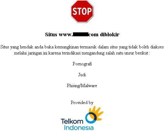 membuka situs yang diblokir