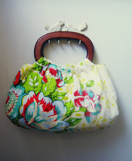 Hoop Handle Handbag