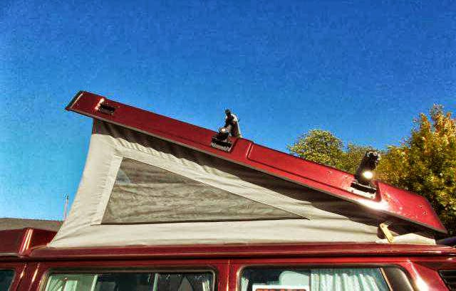 how to clean roof lining in 4wd