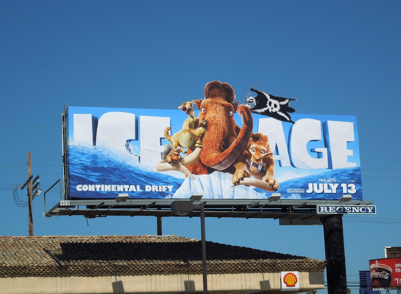 Ice Age Continental Drift billboard