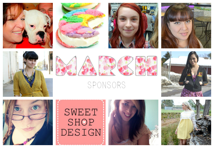 Caked Vintage Blog: March Sponsors & $75 Etsy Gift Card Giveaway