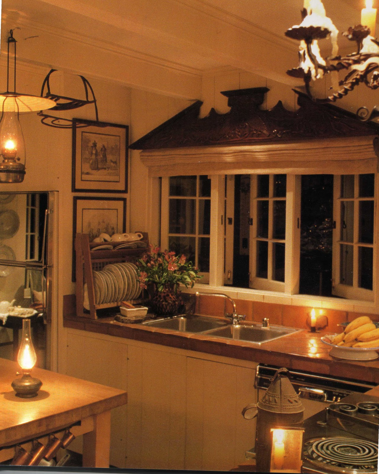 BOXWOOD TERRACE: A Cottage Kitchen