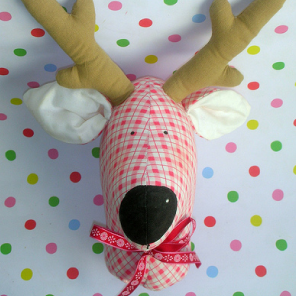 Hand made reindeer head by Torie Jayne