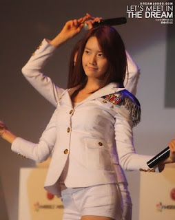 Im Yoona Korean Cute Girl Singer Beautiful Uniform Photo 3