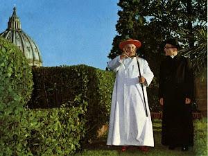 JOAN XXIII I EL SEU SECRETARI PERSONAL, MONS. LORIS F. CAPOVILLA