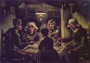 The Potato-Eaters (1885)