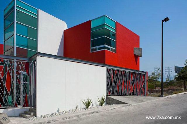 Casa residencial contemporánea en México