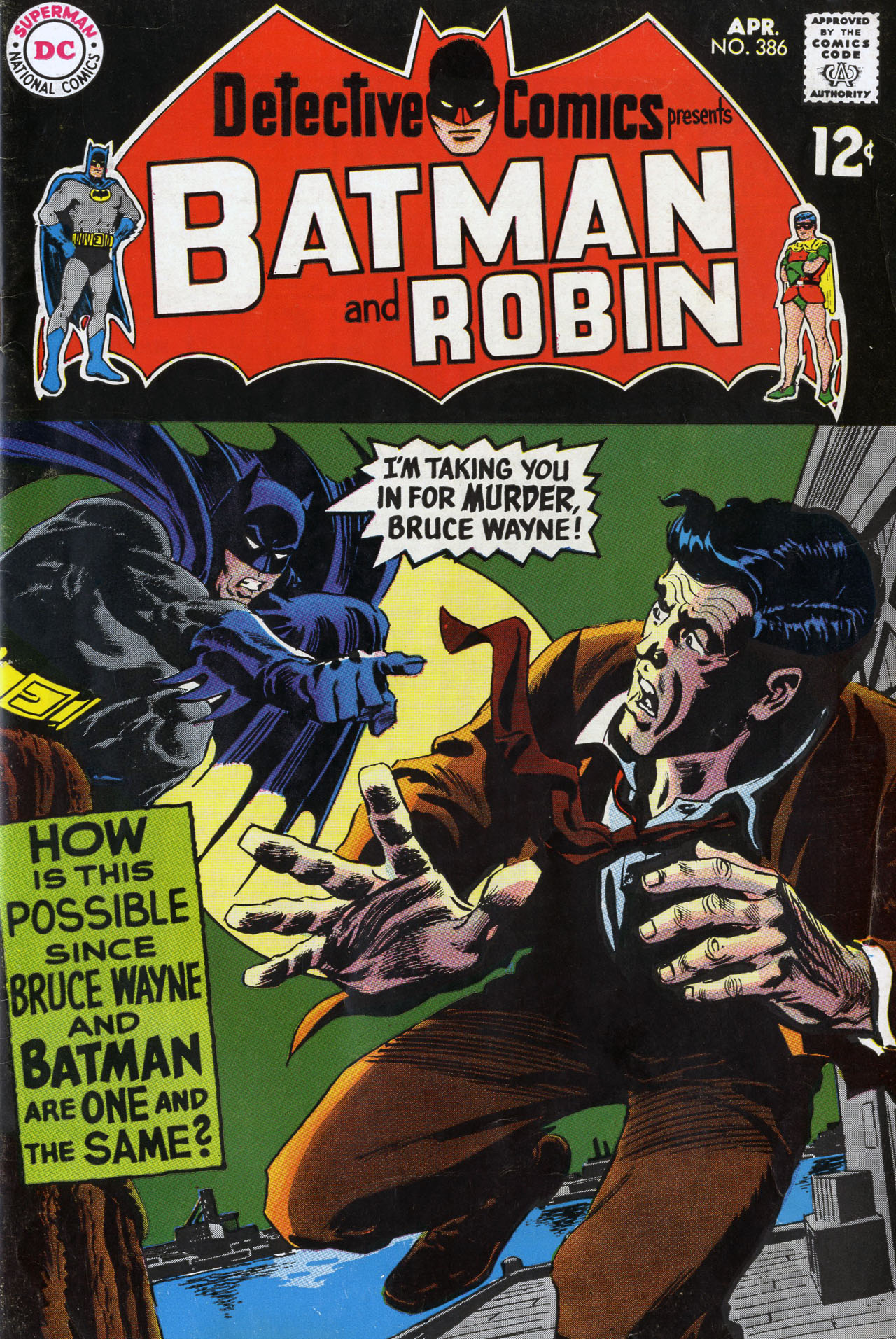 Detective Comics (1937) 386 Page 1
