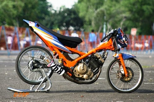 Gallery Modifications Satria 150F Drag Style