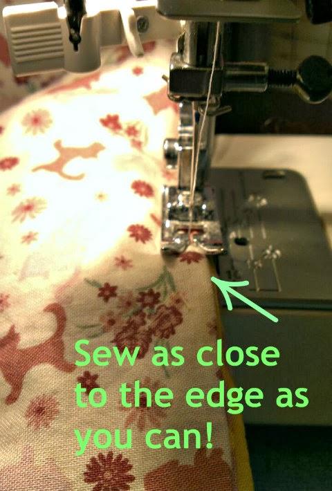 bthm doll sleeping bag sewing seal allowance