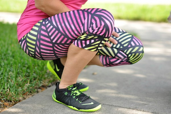 fun colorful Nike workout clothes