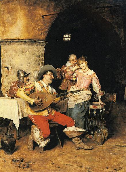 Bard, Bardic, Federico Andreotti, The Serenade