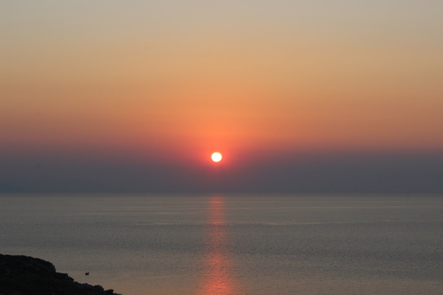 kefalonia sunset