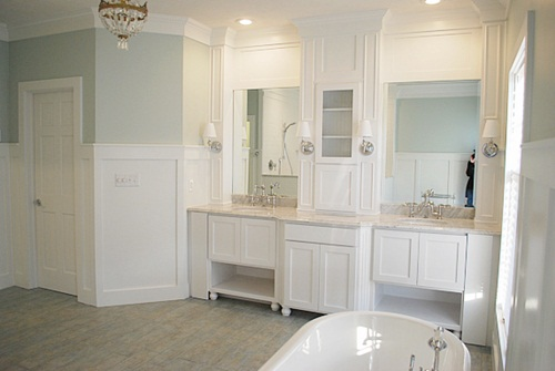 Color inspiration sea salt bright and beautiful for Southwest bathroom paint colors