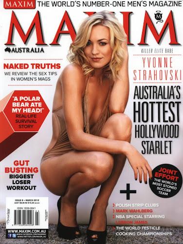 Yvonne Strahovski Maxim Australia March 2012- 9 Pics