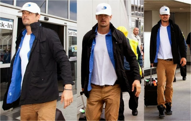 Celebrity Looks: Josh Duhamel Really Loves K-Way!