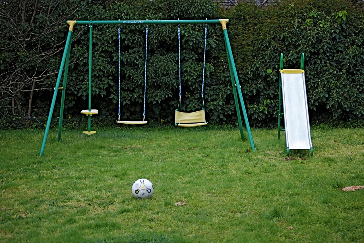 how to fix old swing set