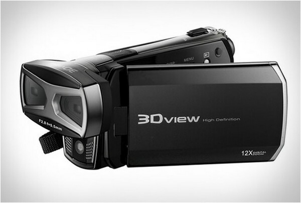DXG 3D Camcorder requires no 3D glasses