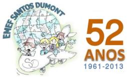 <center>E.M.E.F. Santos Dumont - Campo Bom- RS</center>