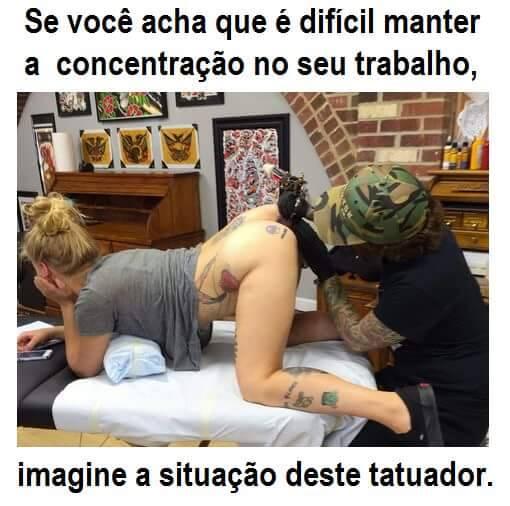 Tatuador: dependendo da situação a melhor ou a pior profissão do mundo