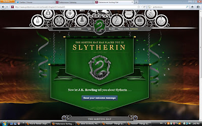 how to get sorted into a house on pottermore