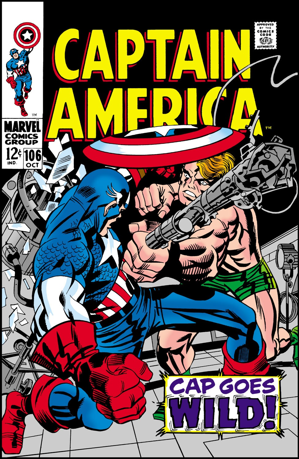 Captain America (1968) Issue #106 #20 - English 1